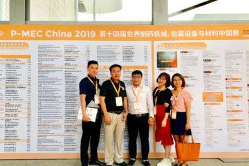 Công ty CP Dược phẩm Syntech tham dự CPhI – PMEC China 2019
